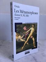 Ovid Las Metamorfosis (Libros X, Xi, XII) Folioplus Clásicos 2005