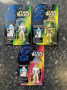 Star Wars POTF Figures Bundle MOC Power Of The Force STORMTROOPERS