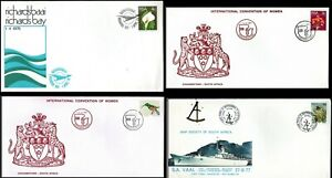 South Africa 4 1975 -77 Convention of Women SA Vall Last Passenger Mailship SHS
