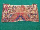 Antique Anatolian Konya Rug fragment/Turkish Rug/Hand-made rug/Natural Rug