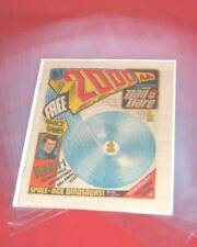 More details for 2000ad older size polythene comic bags - bundle of approx. 100