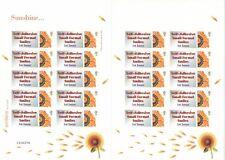 GB 2005 - Self Adhesive Small Format Smilers - Sunshine - TS32b