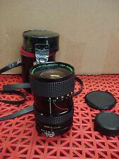 Quantaray Auto Zoom 28-80MM f1:3.5-4.5 Macro Lens w/Case