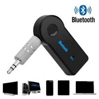Wireless Bluetooth AUX Audio Stereo Music Home Car Receiver Adapter