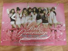 SNSD GIRLS' GENERATION 1ST ASIA TOUR [ORIGINAL POSTER]