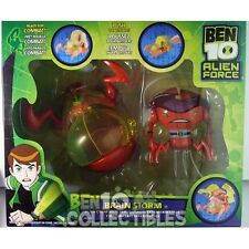 VERY RARE Bandai Ben 10 Alien Force Alien Creatures Set - Brain Storm