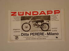 advertising Pubblicità 1976 MOTO ZUNDAPP GS