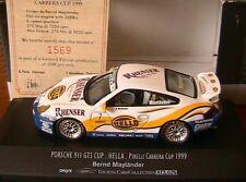 PORSCHE 911 GT3 CUP #7 HELLA PIRELLI CARRERA 1999 BERND MAYLANDER ONYX XCL025