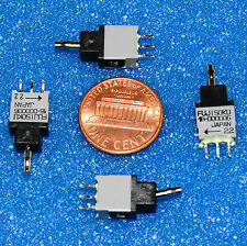 10 pc Lot - MICRO MINI TOGGLE SWITCH SPDT / ON–OFF–MOMENTARY ON / USA SELLER