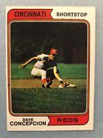 1974 Topps Baseball Card #435 Dave Concepcion Cincinnati Reds