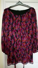 Anna Marsden (M&Co) Floral Tunic Size 28