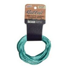 6 Yards 1MM RATTAIL TURQUOISE (Free Shipping)