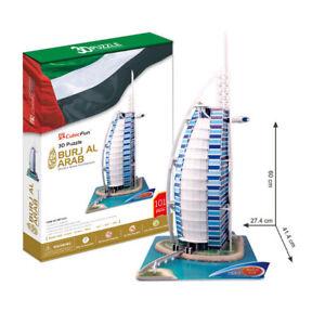 Cubic Fun - 3D Puzzle Burj Al Arab Dubai United Arab Emirates Large