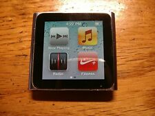 Apple iPod nano 6th Generation Space Graphite 16 GB (MC694LL)