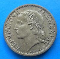 5 francs Lavrillier bronze-alu 1947 , cote TTB 850 SUP 1500