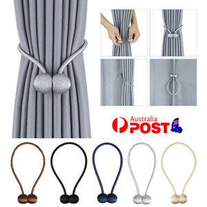 Magnetic Ball Curtain Tiebacks Tie Backs Hooks for Clothing Home Textiles DIY