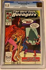 West Coast Avengers #42 CGC 9.8 Golden State Pedigree Prelude to white Vision