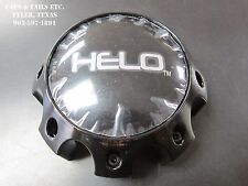 Helo Center Cap 1079L170 HELO 879 Center Cap Gloss Black 8 Lug NEW