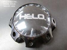 Helo Center Cap 1079L170 HELO 879 Center Cap Gloss Black 8 Lug NEW