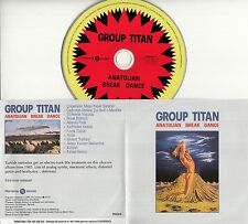 GROUP TITAN Anatolian Break Dance 2016 Spanish 12-trk promo CD Turkish
