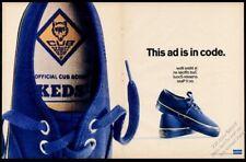 1968 Keds Official Cub Scout shoes photo Uniroyal BIG vintage print ad