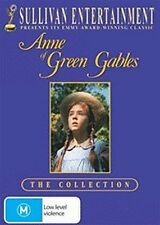 ANNE OF GREEN GABLES : COLLECTION TRILOGY -  DVD - UK Compatible - New & sealed