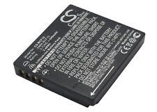 BATTERIA agli ioni di litio per Panasonic Lumix dmc-f3k Lumix dmc-fs15eg-s Lumix dmc-fx700k