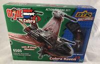 BTR Gi Joe Vs Cobra Cobra Raven Wild Weasel 6505 Sealed 39pcs Hasbro 2003 New