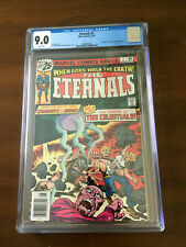 ETERNALS #2 CGC 9.0 White Pages 1ST APPEARANCE AJAK & CELESTIALS!!