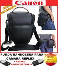 MOCHILA FUNDA PARA CAMARA REFLEX CANON EOS 550D 500D 40D 600D 650D 1100D MANDO H