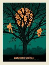 Dave Matthews Tim Reynolds Poster 2012 Prowse Farm Canton MA S/N #/500 Rare!!!!