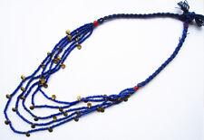 Collier Naga Bleu Ethnie Nagaland Inde du Nord