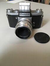 Praktica FX3 35mm Camera with C Z Jena Tessar 50mm 2.8 lens. *READ*