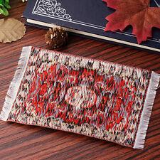 Mini Dollhouse Carpet Toy Furniture For  1:12 Doll House Cloth Thread Rug Decor