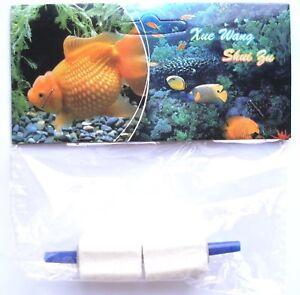 Diffuseur D'air, Bulleur Ou Sucre Pour Pompe À Air D'aquarium Lot De 2 Embouts