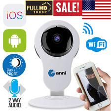 ANNI Wireless 1080P 2.0MP IP Camera WiFi IR-cut Home Baby Monitor Two Way Audio