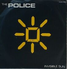 "THE POLICE~INVISIBLE SUN~AMS 8164~1981 UK 7"" JUKEBOX VINYL SINGLE~EXCELLENT"