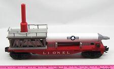 Lionel 3413 Lionel Mercury Capsule launcher with mercury rocket and chute