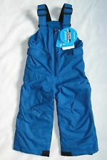 Columbia Toddler Boys Size 2T Snowslope II Bibs Marine Blue Snow Pants Winter