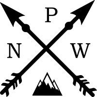 Vinyl PNW Arrow w/Mountains Northwest Decal Sticker Laptop Phone Bottle Tumbler