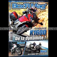 BOX'R MAG N°39 BMW K1600 GT GTL R1200 R R80 DAYTONA R90 S R51 RS RAID ZOULOU