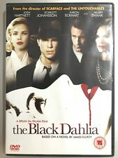 Scarlett Johansson NERO DAHLIA ~2006 JAMES ELLROY FILM NOIR THRILLER UK DVD