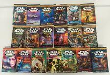Star Wars 19 Book lot: New Jedi Order Vol. 1-19: Complete Legends Set: Brand New