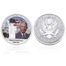 Christmas souvenir gift Dwight D.Eisenhower 34th us president commemorative coin