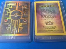 Mew Ancient Double Sided HOLO PROMO MINT SEALED PACK POKEMON CARD Never Used