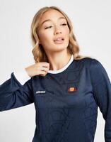 New Ellesse Women's All Over Print Logo Long Sleeve T-Shirt