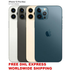 APPLE iPHONE TWELVE 2020 PRO MAX 128/256/512GB UNLOCKED (A2412 REAL DUAL SIM)