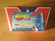Werner Box Teil 1-4 DVD Box 2004 incl. 5 Bonus DVD Limitiert wie Neu