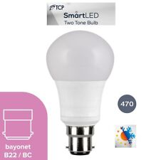 TCP - Two Tone Smart LED 2in1 Bulb 3000K + 6500K -7W- B22 A+ Rated Mood Lighting