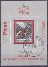 Österreich 2000 Block 13 Basilisk Stempel WIPA 2000